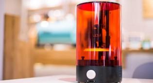 2万円の3Dプリンター 光造形式